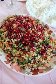Narlı Bugday Salatası