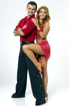 DWTS Season 11 Cast Celebrity Audrina Pattridge and Tony Dovolani