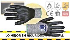 Guante de anticorte Nivel 5 Tallas M - L - XL Recubierto 3/4 para mayor protección Excelentes resistencias a la abrasión y al rasgado #seguridadindustrialferyseg #seguridadindustrialcolombia #tiendaportwestcolombia