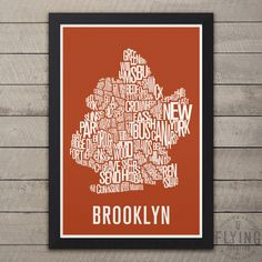 Brooklyn Neighborhood Map