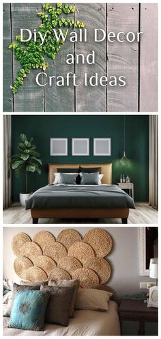 AMAZING, COST-EFFECTIVE AND EASY DIY WALL CRAFTS FOR THE BEGINNERS Diy Wallpaper, Craft Ideas, Decor Ideas, Diy Wall Decor, Home Decor, Wall Decals, Easy Diy, Clock, Amazing