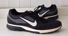 Wow! Mens NIKE ZOOM FLY 2 Sneakers Shoes RUNNING 10 Black White DYNAMIC SUPPORT #Nike #RunningCrossTraining