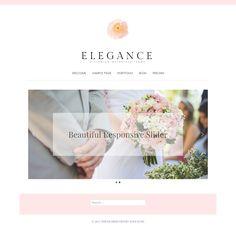 Elegance | Wordpress Theme | Photography | Portfolio by lovelushshop on Etsy https://www.etsy.com/listing/521673078/elegance-wordpress-theme-photography