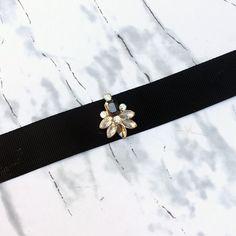 Lila&Sirena: DIY | Embellished Choker Necklace