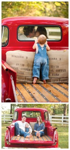 Vintage Truck Christmas Photoshoot Ideas For 2019