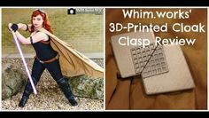 Hey everyone! I just launched my YouTube channel with a review of Whim.works 3D-printed cloak clasps!  You can check out the video (and my developing channel haha) here! https://www.youtube.com/watch?v=pO-BgRzSa-A  Im still not super used to vlogging and I definitely need a new space setup rather than in my basement but I hope you enjoy and check out their work! Im very pleased with my product and I cant wait for new photoshoots at Katsucon with the pieces!  Make sure you check out…