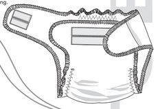 Free Fitted Diaper pattern - http://www.ottobredesign.com/en/print/pdf/vaippa_en.pdf