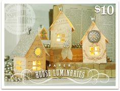 Paper House Luminaries