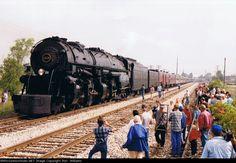 Norfolk Southern Class A No. 1218 Steam Locomotive!