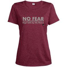 No Fear Ladies Muscle Dri-Fit Tech