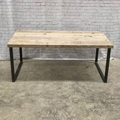 Reclaimed Industrial Chic Dining Table Bar Cafe Restaurant | Etsy Pine Dining Table, Reclaimed Wood Dining Table, Outdoor Dining, Grey Ikea Kitchen, Restaurant Furniture, Rustic Shelves, Small Dining, Cafe Restaurant, Industrial Chic