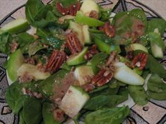 This has been a quest for me since eating at the III Forks in North Dallas a few years. I tried to duplicate the dressing but failed miserably, many times. House Dressing Recipe, Green Salad Recipes, Toasted Pecans, Blue Cheese, Salad Plates, Forks, Healthy Cooking, Side Dishes, Pecans