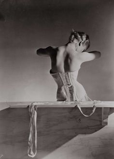 Corset By Detolle For Mainbocher, 1939  Photo:  Conde Nast/Horst Estate