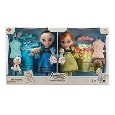 Disney Animators' Collection Anna and Elsa Dolls Deluxe Gift Set - Disney Barbie Dolls, Disney Princess Toys, Disney Animator Doll, Frozen Disney, Anna Frozen, Elsa And Anna Dolls, Anna Und Elsa, Disney Animators Collection Dolls, Collection Disney