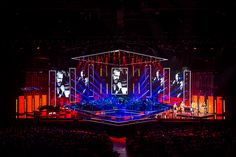 Stage Design Pack By Holution Retro Angles Church Stage Design Ideas. Stage Lighting Design, Stage Set Design, Church Stage Design, Modern Lighting Design, Light Design, Royal Ballet, Dark Fantasy Art, Arena Stage, Concert Stage Design
