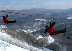 New York Zipline Adventure Tours at Hunter Mountain   Great Northern Catskills of Greene County - You know you want to!