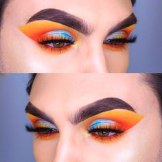 Cut Crease, Lineup, Halloween Face Makeup, Eyeshadow, In This Moment, Warm, Photo And Video, Blue, Instagram