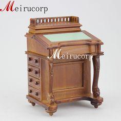 Fine 1 12 Scale Dollhouse Miniature Furniture Handmade Carving Classical Desk | eBay