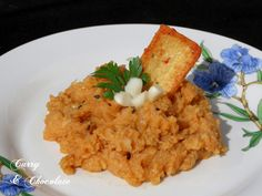 Mashed cauliflower Andalusian style