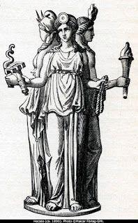 SANTERIA MAFERBA: HECATE, Diosa tricéfala