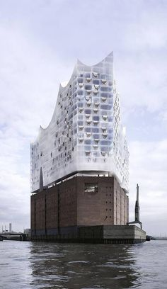 ElbPhilharmonie Hall, Hamburg, Germany by Herzog & de Meuron Architects :: in construction