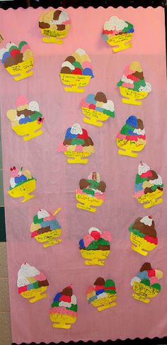 Fractions- one of my favorite math projects. Do 12 scoops so higher-level students can play with equivalents