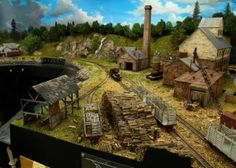 A beautiful model railroad is being built and the world is watching every moment.  Is this the most incredible model railroad ever built?