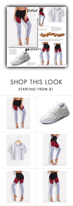 """""""ROMWE"""" by armina-saric ❤ liked on Polyvore featuring Improvements"""