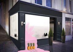 Window Display Adair Design Group San Francisco x Apartment 415 #window #windowdesign