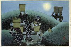 版画ギャラリー。 。 。 鳥居ギャラリー:伊藤Shinsuiにより雨の後