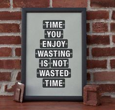 Wasting time...