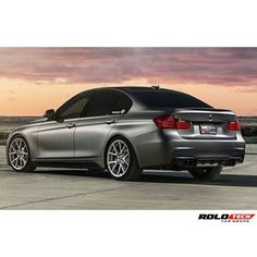 BMW looking good wrapped in 3M 1080 Matte Dark Gray by Rolotech, rolotech.net.