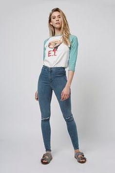 MOTO Sulphur Blue Joni Jeans