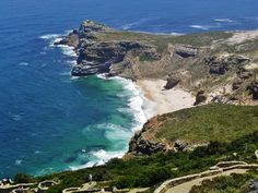 Kaap de Goede Hoop - Zuidelijkste puntje van Zuid-Afrika die Bartholomeus Diaz had ontdekt.