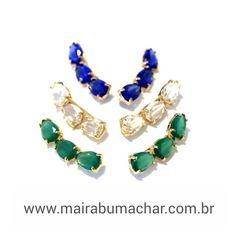 Os mais novos earcuff na loja virtual pra vcs!  www.mairabumachar.com.br