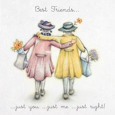 Best Friends, Artist Berni Parker
