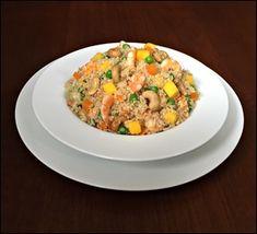 Quinoa com Camarão