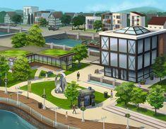 [info] Cómo construimos Windenburg en Los Sims 4