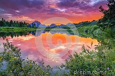 Sunset On The Snake River - Download From Over 24 Million High Quality Stock Photos, Images, Vectors. Sign up for FREE today. Image: 32866405