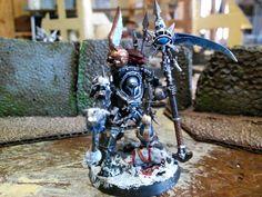 Chaos Sorcerer in Terminator armor