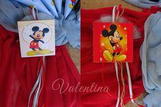 Μπομπονιέρες μαγνητάκια - καδράκια με θέμα το Mickey Mouse! Reusable Tote Bags
