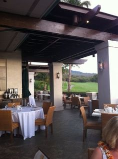 Gannon's @ Wailea golf course  Happy Hour every day from 3-6. Awesome food, amazing view, cheap beer, nuf said.