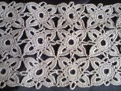 Квадратный мотив (вязание крючком) ч.1. Square motif (Crochet) Part 1