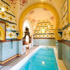 Turkish Baths in Harrogate, Yorkshire, UK