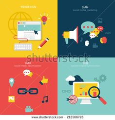 stock-vector-flat-design-vector-illustration-concept-process-icons-set-of-modern-webdesign-seo-smo-and-smm-212566726.jpg (450×470)