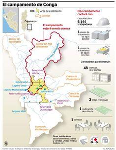 Perú: Minem aprobó en mayo modificación de EIA de Conga para construcción de campamento