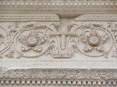 Chiesa di San Salvatore, Spoleto. Il portale del V secolo, particolare