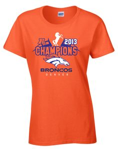 Denver Broncos AFC Conference Champions Women Shirt