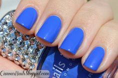 Nails Inc's 'Baker Street';  great color!
