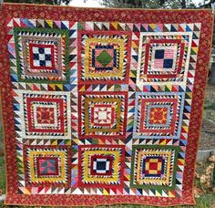 Humble Quilts: Under the Big Top- DONE!! Additional photos of quilt and layout shown.